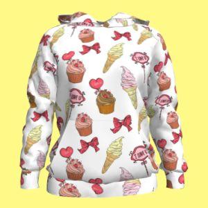 Lovely, Custom Design Women′s Hoodies