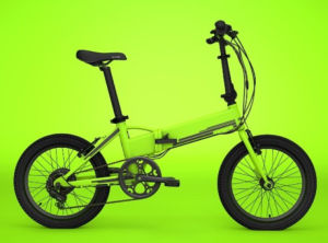 Green Color 36V Folding Electric Bike with Hidden Battery pictures & photos