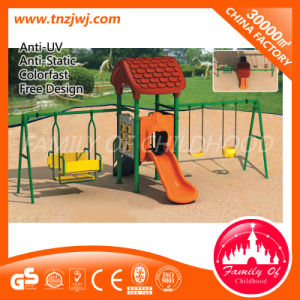 Large Kid Swings Set Outdoor Swings Slide Playground for Kids pictures & photos