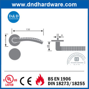 Stainless Steel Hardware Casting Solid Handles for Door (DDSH019) pictures & photos
