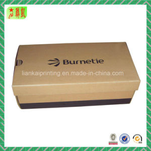 Custom Printed Brand Corrugated Paper Shoe Box Printing pictures & photos
