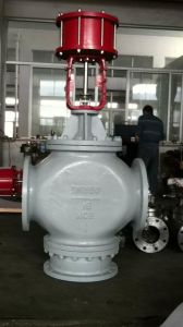 Pneumatic Mixing Type Three Way Flow Control Valve (ZMAQ) pictures & photos