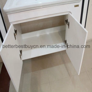 2016 Top Selling MDF Board Bathroom Cabinet with Mirror pictures & photos