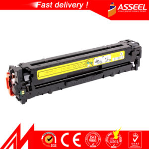 Premium High Qualtiy Compatible Laser Color Toner Cartridge CE320A-CE323A 128A for HP Color Laserjet (AS-CE320A/321A/322A/323A) pictures & photos