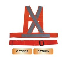 2015 High Class PVC Reflective Safety Belt pictures & photos