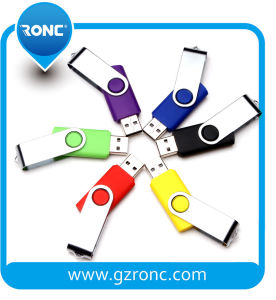 Customized Promotional 64GB Swivel USB Flash Driver pictures & photos