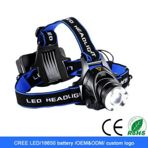 CREE LED T6 10W Rechargeable LED Flashlight pictures & photos