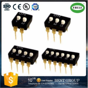 SMD DIP Switch 6 Pin 1.27mm SMD DIP Switch Setting DIP Switch pictures & photos