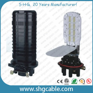 288 Splices Heat Shrink Fiber Optic Splice Closure (FOSC-D07) pictures & photos