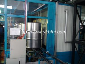 Automatic Spray Painting Room for Steel Barrel Production Line pictures & photos