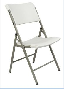 Blow Moulding Portable Plastic Folding Chair pictures & photos