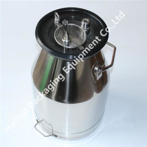 Stainless Steel Milk Bucket Cover with Filter Basket pictures & photos