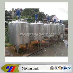 Stainless Steel Detergent Mixer Cooking Liquid Mixing Tank with Heating pictures & photos