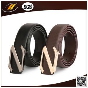 New Fashion Formal Wear Belt Automatic Buckle Men′s Waist Belt (HJ3104)