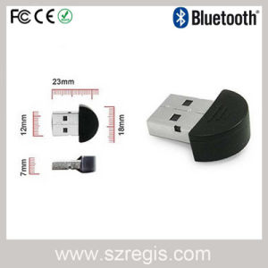 Good Signal 3 Times Faster USB2.0 Bluetooth V2.0 + EDR Xh Dongle with CSR Program for All Bluetooth Devices pictures & photos