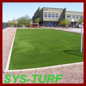 Sand Infilling Synthetic Turf Grass for Soccer pictures & photos