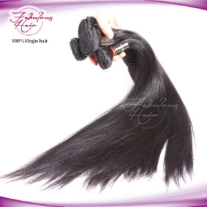 Virgin Hair Silky Straight 100% Remy Brazilian Human Hair Weaving pictures & photos
