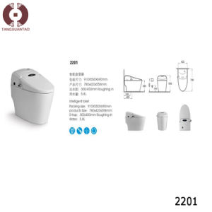 Foshan High Class Intelligent Siphonic Toilet (2201) pictures & photos