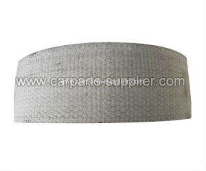 White Woven Brake Lining Roll pictures & photos
