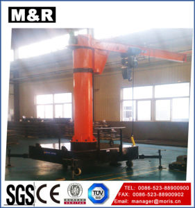 Hot Sale Mobile Jib Crane of China pictures & photos