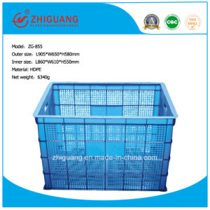 Plastic Turnover Basket, Turnover Crate pictures & photos