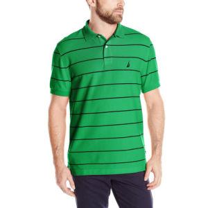 Factory Produce Cheaper Price Men Striped Polo Shirt