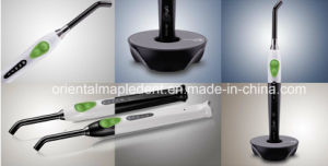 5 Watts Wireless Dental LED Curing Light with 8mm Fiber Optic Tips (OM-L043) pictures & photos