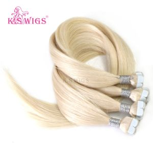 Human Hair Mini Tape in Hair Extension pictures & photos