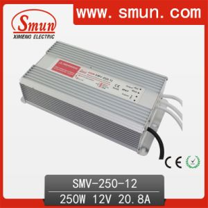300W 12V LED Driver Waterproof LED Power Supply Smv-300-12 pictures & photos