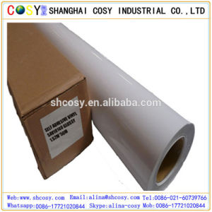 High Glossy Good Sticker Self Adhesive Vinyl Rolls for Printing Advertising pictures & photos