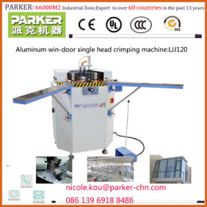 Aluminum Window Machine, Aluminum Window Single Head Corner Forming Machine pictures & photos