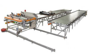 TM-Z7 Fully Automatic Multicolor Running Table Large Screen Printing Machine pictures & photos