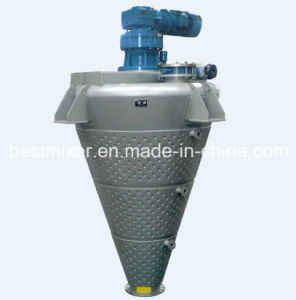 Central Spraying Cone Mixer pictures & photos