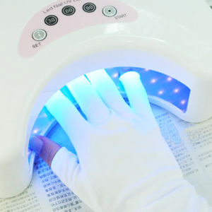 Professional Nail Anti UV Gel Protection Finger Glove pictures & photos