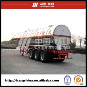 LPG Tank Semi Trailer for Delivering LPG Gas pictures & photos