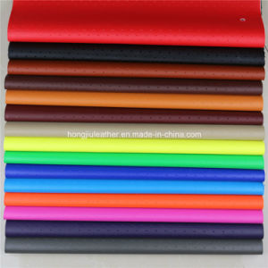 PVC Leathe Fabric for Car Seat (HS038#) pictures & photos