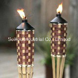 Outdoor Parties 5FT Classic Bamboo Tiki Torch (TR9023)