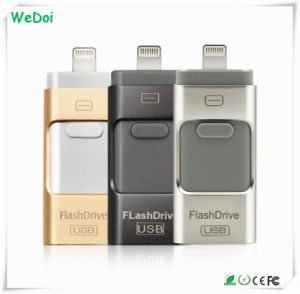 3 in 1 OTG USB Flash Drive for iPhone5/6/iPad/Andriod Phones (WY-pH19) pictures & photos