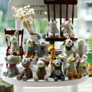 Unique Mini Resin Animal Figurine Figure Home Decor Gift pictures & photos