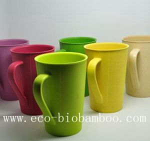 Eco Bamboo Fiber Tableware Cup/Mug (BC-C1010) pictures & photos