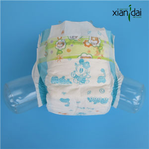 Disposable Baby Diaper with Super Soft Top Layer