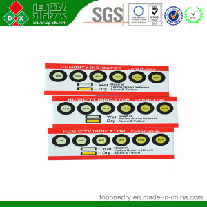 6 Spots Vacuum Package Humidity Indicator Cards pictures & photos