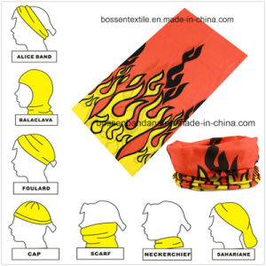 Promotional Microfiber Custom Design Multipurpose Buff Sports Head Band pictures & photos