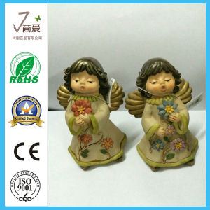 Cute Polyresin Home Decoration Angel Figurine for Gifts pictures & photos