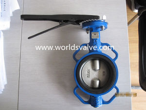 Multistandard Wafer Butterfly Valve pictures & photos