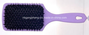 Boar Bristle Paddle Hair Brush for Hair Salon pictures & photos