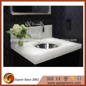 Good Quality White Onyx Tile for Vanity Top pictures & photos