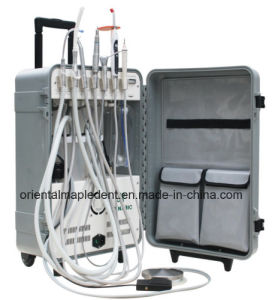 FDA, CE Portable Dental Unit with Scaler, LED Curing Light pictures & photos