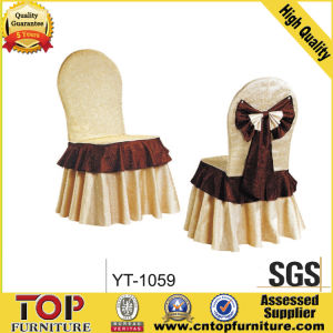 Hotel Bowtie White Banquet Chair Cover pictures & photos