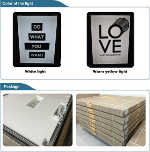 Embedded Strip, Fabric Flexible Film Silicon Edging Light Box (SS-LB20) pictures & photos